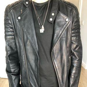 All Saints Leather Jacket.